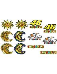 Valentino Rossi autocollants pack