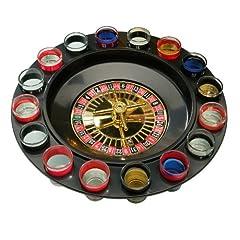 Idea Regalo - Premier Housewares 1404607 Roulette, Gioco da Bere, 16 Bicchierini