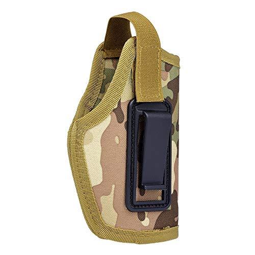 Tianzhiyi Wilde Umhängetasche Tragbare leichte Tasche für Jagdausrüstung Rechts und Links Universal 6,1-Zoll-verdeckte Tragetasche mit Clip (Color : Camouflage1) -