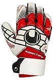 uhlsport Kinder Handschuhe ELIMINATOR SOFT SF Plus, weiß/rot/schwarz, 5.5, 100017201