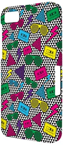 EMPIRE Signature Série One Piece Slim-Fit Case Étui Coque for BlackBerry Z10 - Neon 90's