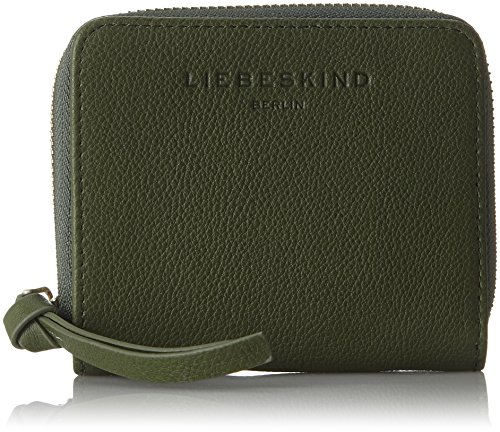 Liebeskind Berlin Damen Sabiaf8 Hiddvi Geldbörse, Grün (Hunter Green), 3x12x10 - Hunter Green-zubehör