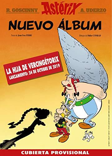 Llega el nuevo álbum de la colección clásica de Astérix con los personajes de siempre y muchos nuevos.
