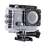 Andoer 4K Action Camera 1080P Wifi Cam 16MP Ultra-HD 2in LCD 170° - Andoer - amazon.it