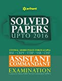 Solved Papers CPF Assistant Commandant Examination