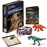 NATIONAL GEOGRAPHIC Mega Dinosaur Fossil Dig with 2 Dino Action Figures
