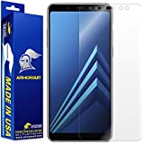 ArmorSuit Samsung Galaxy A8 (2018) Screen Protector [Max Coverage] MilitaryShield Anti-Bubble Screen Protector for Galaxy A8 (2018) - HD Clear