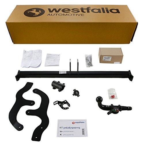 Westfalia 316287900113 Abnehmbare Anhängerkupplung und fahrzeugspez. Elektrosatz