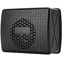 Tosuny Altavoz Bluetooth inalámbrico, Reproductor de música portátil con Mini Tarjeta enchufable con función de Radio, AUX, Tarjeta de Memoria, Altavoz de Radio de Bolsillo para Viajar a casa(Negro)