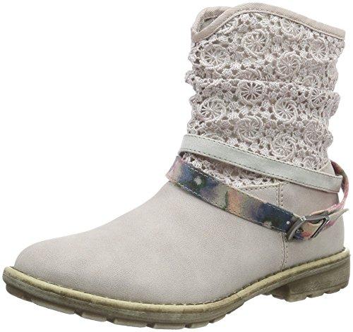 s.Oliver Mädchen 45600 Kurzschaft Stiefel, Pink (Dusty Pink 547), 33 EU (Stiefel Kinder Rosa Western)