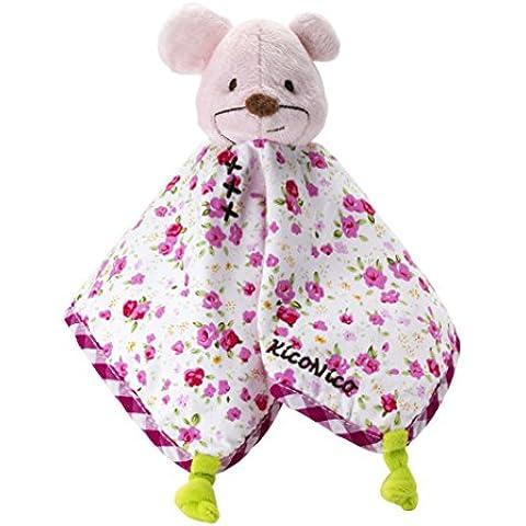 itsImagical - Doudou Pinkinico, doudou de tela para bebé, color rosa (Imaginarium 87197)