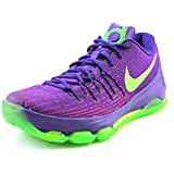 Nike KD 8, Zapatillas de Baloncesto para Hombre, Azul/Gris/Naranja (Bl Lgn/Brght...