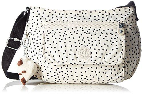 Kipling Damen SYRO Umhängetasche Mehrfarbig (Soft Dot) - Casual Dots-muster