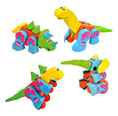 Toomies E72760C Constructables Dinosauri Giocattolo