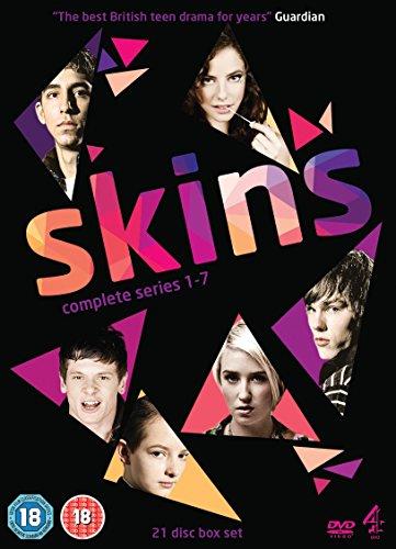 Skins - Complete Series 1-7 [DVD] [Reino Unido]