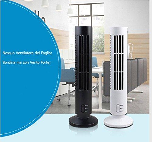 Rubility®Torre Desktop Ventilatore Regalo dell
