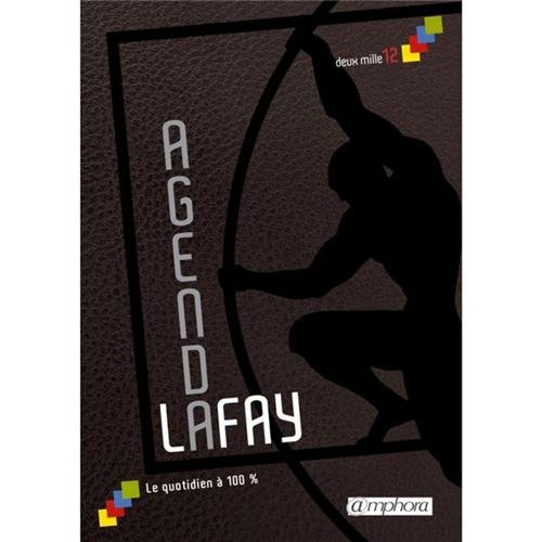Agenda Lafay 2012 - le quotidien  100 %
