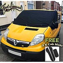 Cover It For Less - Protector de parabrisas para furgoneta Renault Trafic, Nissan Primastar y