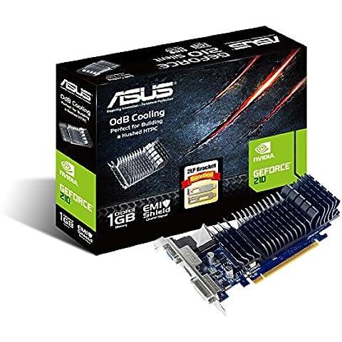 ASUS 210-SL-1GD3-BRK - Tarjeta gráfica de 1024 MB DDR3 (NVIDIA GeForce 210, PCI Express 2.0, 1200 MHz, HDMI)