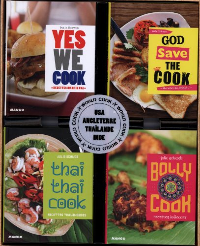 World Cook : Coffret 4 volumes : Yes we cook ; God save the cook ; Thaï thaï cook ; Bolly cook