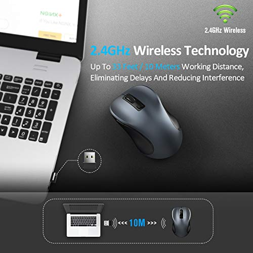 Zoom IMG-2 tedgem mouse wireless 2 4g