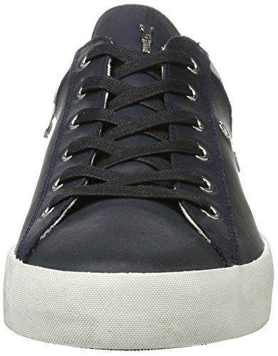 CRIME London Herren Lo Sneaker Blau (Navy)