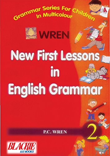 New First Lesson In English Grammar Book-2 [Paperback] [Jan 01, 2017] P. C. Wren [Paperback] [Jan 01, 2017] P. C. Wren