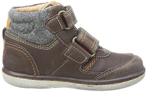 Geox Flick B B, Chaussures Bébé marche bébé garçon Marron (C6090)