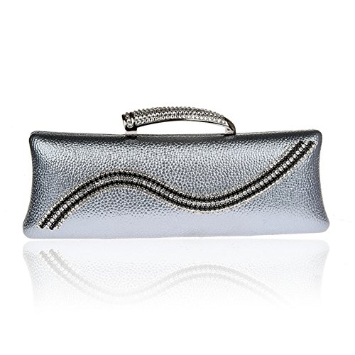Lady moda Pochette/Package banchetto/Strass fibbia bag-B B