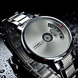 Best amici Orologi - Gotd uomo orologi creativi in acciaio INOX militare Review