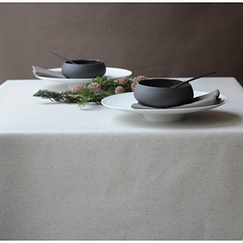 Fleur De Soleil-Tischdecke, beschichtet Leinen/Baumwolle Dimension-Rechteck 160x 240cm, Finish-eingefasst, Material-Beschichtete Baumwolle -