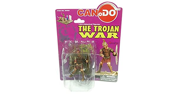 1:24 Scale figures historiques Le Trojan War Figure C Ménélas