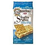 Mulino Bianco - Sfoglia di grano Crackers a ridotto contenuto di sale, 500g, (20 Pacchetti)