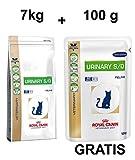 Royal Canin Urinary S/O LP 34 7kg + Gratis 100g Katzenfutter Nass