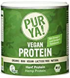 Purya Bio Vegan Protein - Hanfprotein, 1er Pack (1 x 250 g)