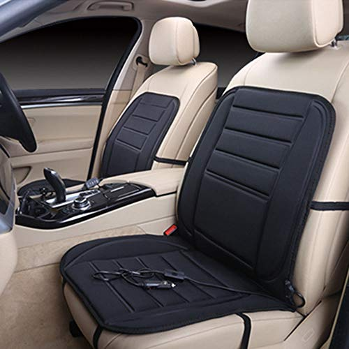 Heat Cushion - Car Electric Heated Seat Cushion Auto Pad Use Winter Warm Thermal Interface 12v Heating - Warmer Grease Scooter Harley Cushions Foot Heater Kick Relief Sciatica Desktop 125cc