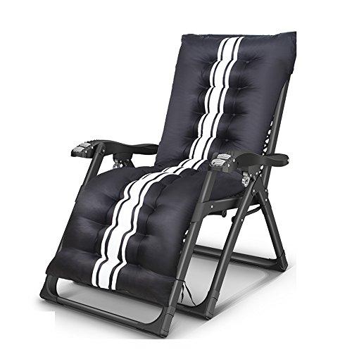Poltrone reclinabili feifei lounge chair portable couch folding house siesta chair + massage braccioli multifunzione schienale deck chair/sun loungers per garden office outdoor indoor sedia da spiag