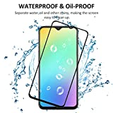 ROOTE [2 Pack OnePlus 6T Screen Protector, [2.5D] [Full Coverage] [Full Adhesive Glue] [Bubble Free ] Tempered Glass Protection Film for OnePlus 6T.