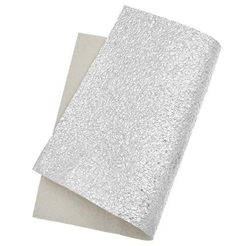 Hongma Lederstoff Kunstleder Sandstein Muster zum Nähen Patchwork Quilting DIY 21x15cm (MEHRWEG