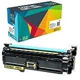 Do it Wiser Toner Kompatibel CE402A für HP 500 Color M551 M551n M551dn M551xh MFP M570 M570dn M570dw M575 M575c M575f M575dn (Gelb)