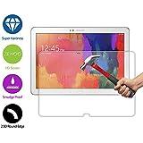 ZeWoo Display Glas Panzerfolie für Samsung Galaxy Tab Pro T900 (12.2 Zoll) / Galaxy Note Pro P900 P905 (12.2 Zoll)Glasfolie Hartglas Schutzfolie 9H *2.5D, nur 0,33mm dünn