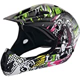 Limar CCRB.11.V7.M Cruiser BMX Save The Quick Casco Bici, Ilustración Grafitera, Talla M