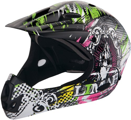LIMAR CCRB 11 V7 M CRUISER BMX SAVE THE QUICK CASCO BICI  ILUSTRACION GRAFITERA  TALLA M