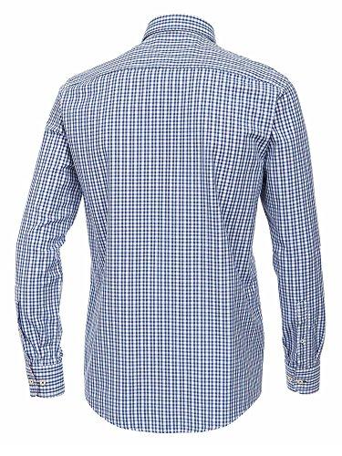 CASAMODA Messieurs Chemise d'affaires 442042500 Coupe classique facile à repasser Bleu