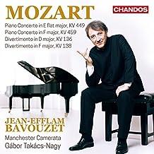 Mozart: Klavierkonzerte Vol. 2, KV 136, 138, 449, 459