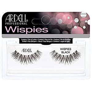 Ardell Invisibands Lashes Glamour Wispies Black (3 PACKS)