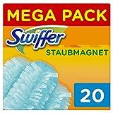Swiffer Staubmagnet-Tücher, Mega Nachfüllpack, 1er Pack (1 x 20 Stück) - Swiffer