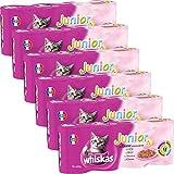 Whiskas boîtes de terrines aux viandes pour chat...