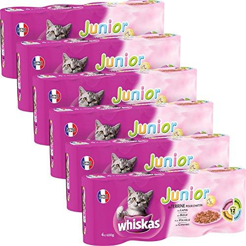 whiskas-junior-en-terrine-canard-volaille-boeuf-lapin-24-boites-de-400-g