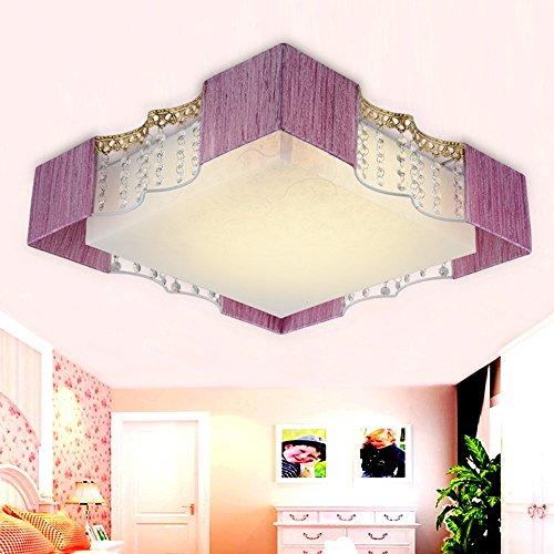 ZHANGRONG-Gute Qualität- Warm Romantic LED Kinderzimmer Herzförmige Stoff Deckenleuchte Schlafzimmer Deckenleuchte (Form Optional) -Efficiency:A+++ (Farbe : B) Gute Qualität Led